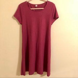 Brand New Linen-Blend Swing Dress